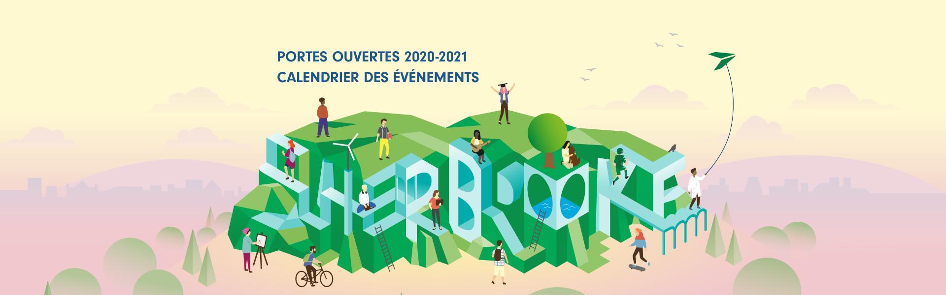 Portes ouvertes 2020-2021 Calendrier des événements