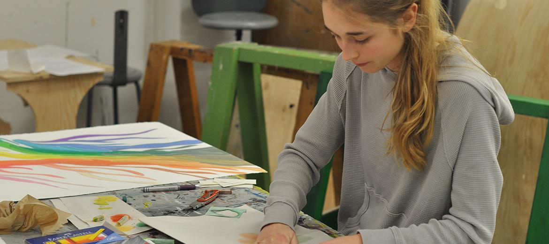 Cours Pratique de l'art : mise en forme d'un projet selon des critères spécifiques au médium retenu