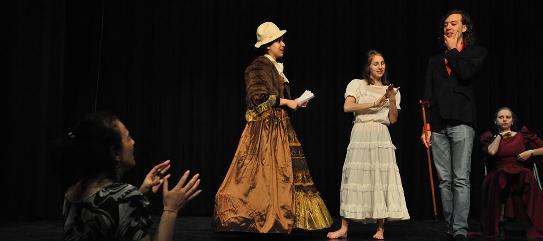 Cours de Théâtre : peaufinèrent de la mise en scène
