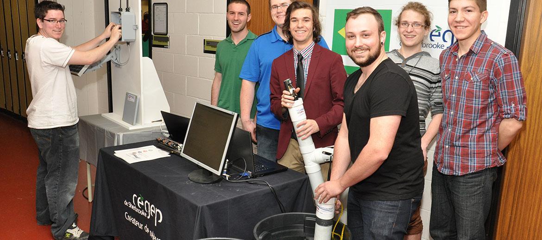 Projet conjoint d'analyse de l'eau et transmission des données en mode infonuagique