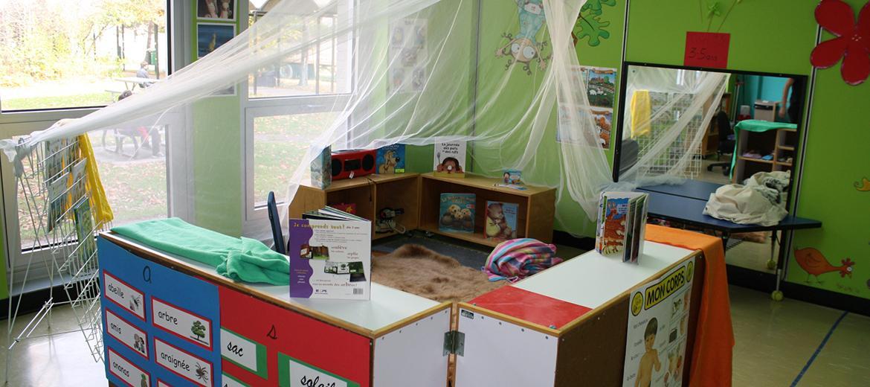 Coin lecture d'histoires pour les enfants de 4 à 5 ans