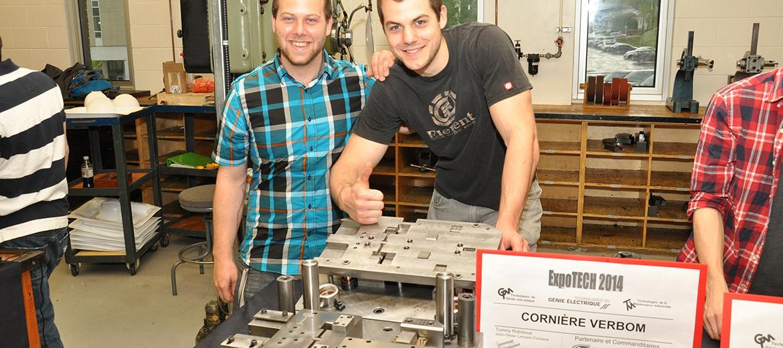 Développement d'un outil de fabrication de cornière en métal