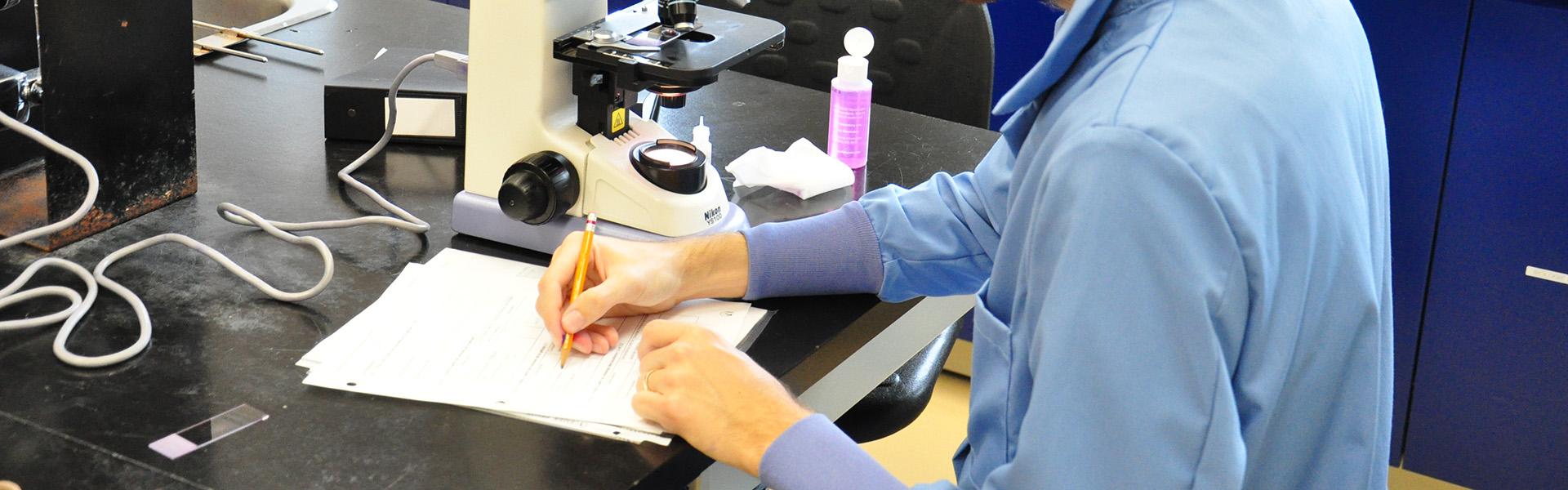 Prise de notes d'observation en microbiologie