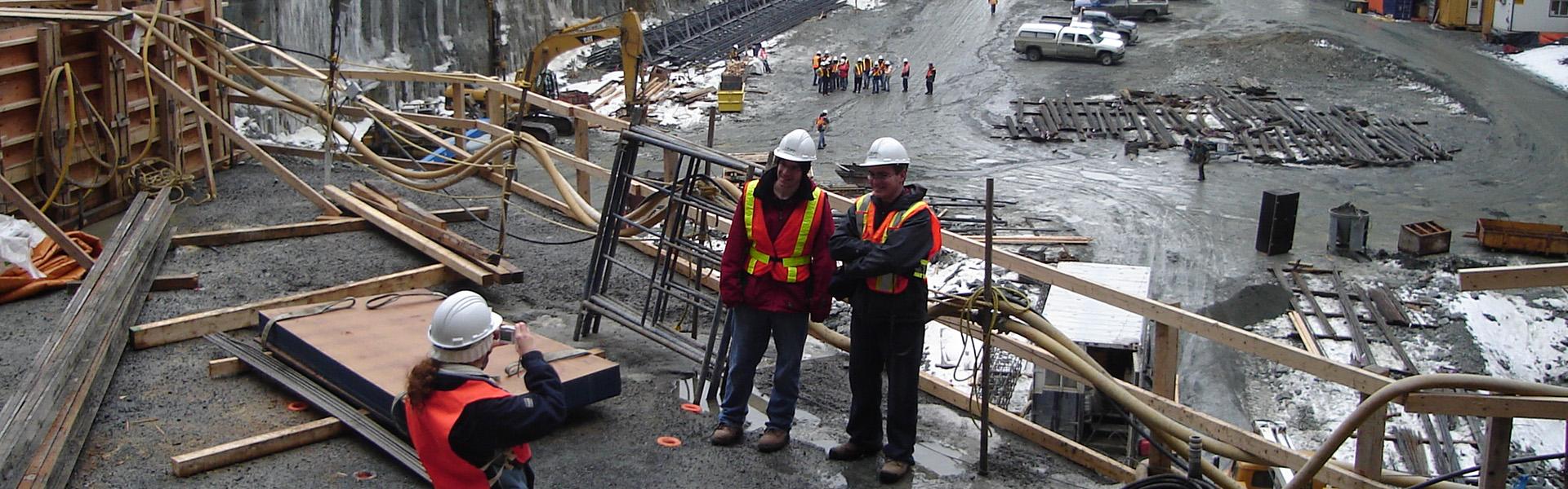 Visite à la Baie James - Centrale EM-1A